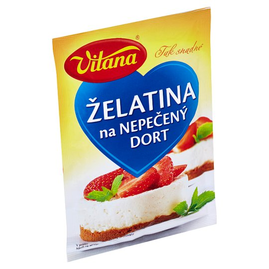 Vitana Gelatin on a Non-baked Cake in Powder 50g