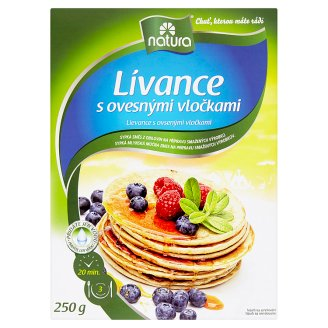 Natura Pancakes with Oatmeals 250g