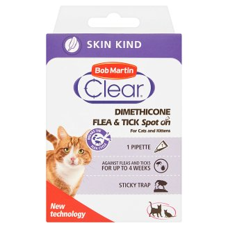 Bob Martin Clear Dimethicone Spot On pro kočky a koťata
