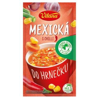 Vitana Do hrnečku Instantní polévka mexická s chilli 16g