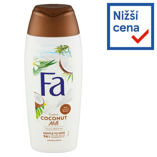 Fa sprchový gel Coconut Milk 400ml
