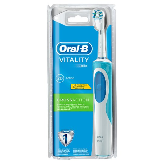 Oral-B Vitality CrossActionElectric Toothbrush Powered By Braun