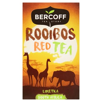 Bercoff South Africa Rooibos Red Tea Lime 20 x 1.5g