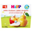 HiPP Organic Fruit Food Apples with Pears 4 x 100g