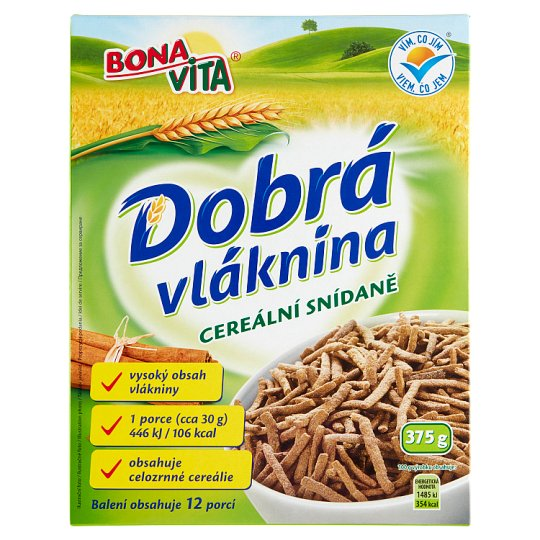Bona Vita Good Fiber Cereal Breakfast 375g