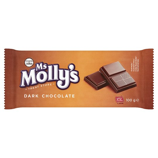 Ms Molly's Dark Chocolate 100g
