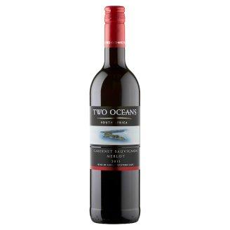 Two Oceans Cabernet Sauvignon Merlot Medium Dry Red Wine