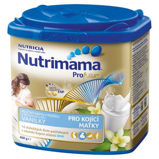 Nutrimama Profutura Milk Drink with Vanilla Flavor for Nursing Mothers 400g