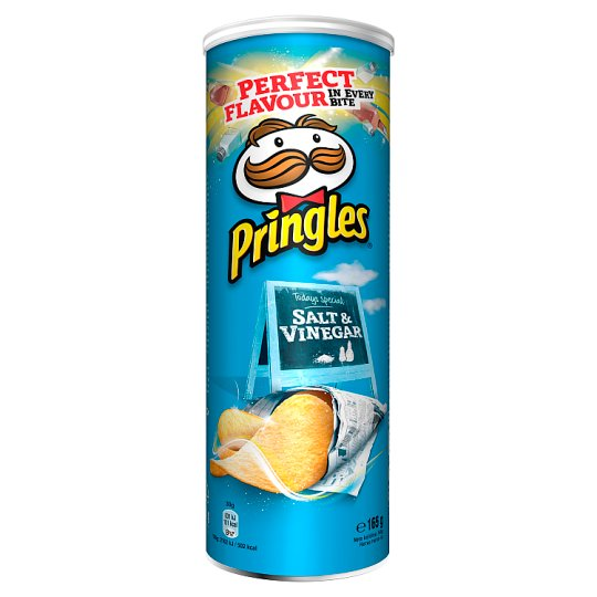 Pringles Sůl a ocet 165g