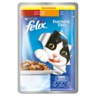 FELIX Fantastic Duo with Beef and Poultry in Jelly 100g