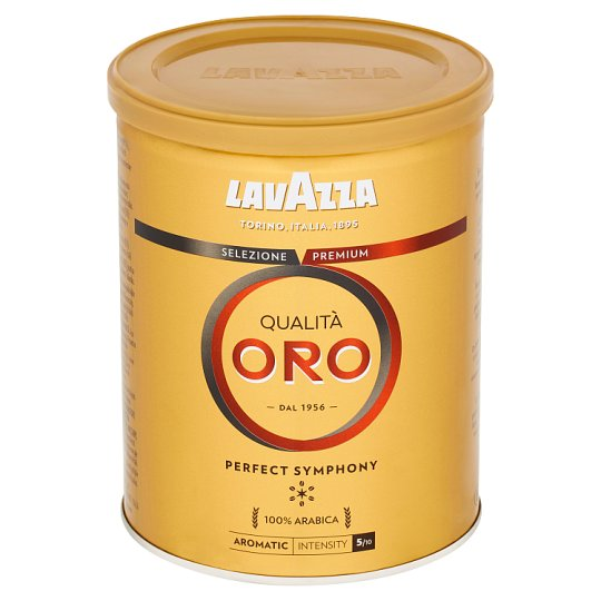 Lavazza Qualità Oro Roasted Ground Coffee 250g