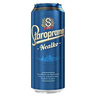 Staropramen Nealko pivo nealkoholické světlé 0,5l