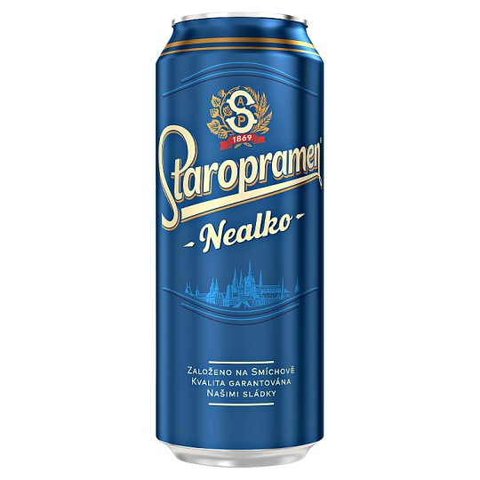 Staropramen Light Non-Alcoholic Beer 0.5L