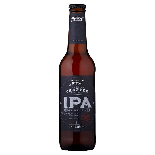 Tesco Finest India Pale Ale Unfiltered Beer 330ml
