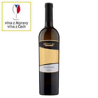 Rodinné Vinařství Břeclav Ryzlink vlašský jakostní víno s přívlastkem pozdní sběr bílé suché 0,75l