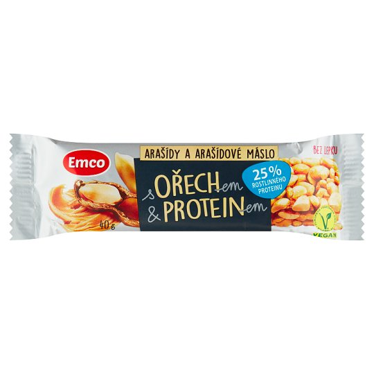 Emco Bar with Nut & Protein Peanut Butter 40g