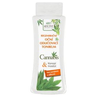 Bione Cosmetics Bio Cannabis regenerační oční odličovací tonikum 255ml