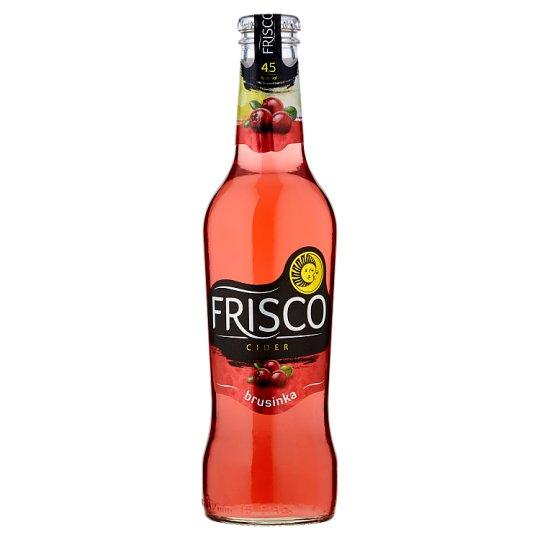 Frisco Cider brusinka 330ml
