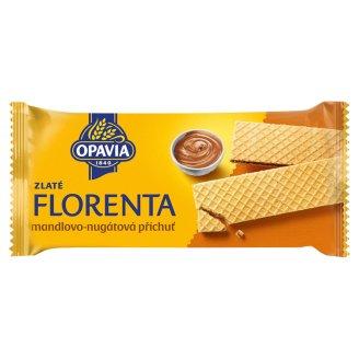 Opavia Zlaté Florenta with Almond-Nougat Flavour 112g