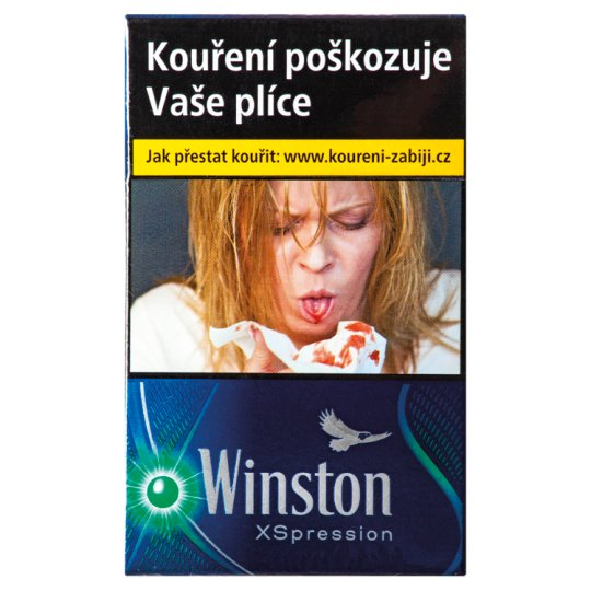 Winston Xspression cigarety s filtrem 20 ks