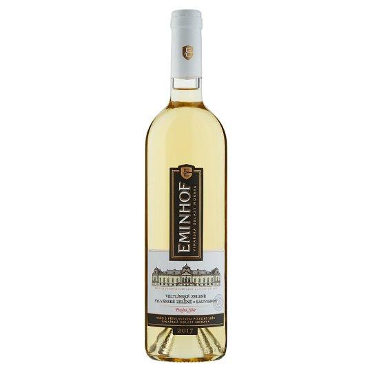 Eminhof Veltlínské zelené & Sylvánské zelené & Sauvignon bílé víno polosuché 0,75l