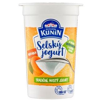 Mlékárna Kunín Rural Yoghurt with Apricot 200g