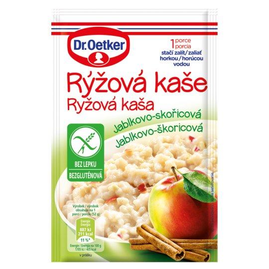 Dr. Oetker Rice Porridge Apple-Cinnamon 52g
