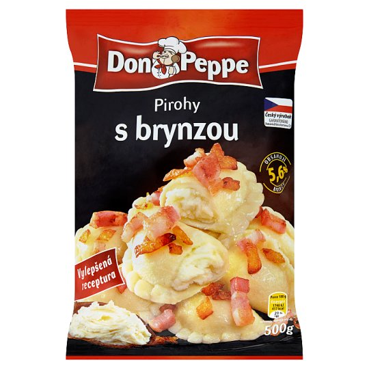 Don Peppe Pirohy s brynzou 500g
