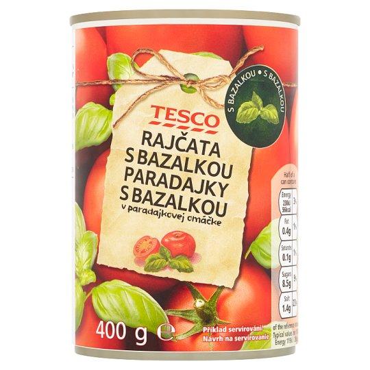 Tesco Tomatoes with Garlic 400g