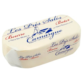 Camargue Butter with Crystals of Sea Salt 250g