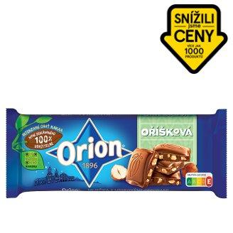 ORION Mléčná oříšková čokoláda 100g