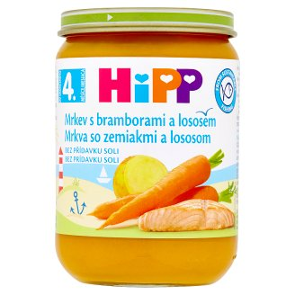 HiPP Carrot with Potatoes and Salmon 190g