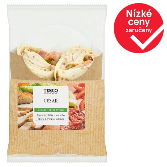 Tesco Ceasar Wrap 181g