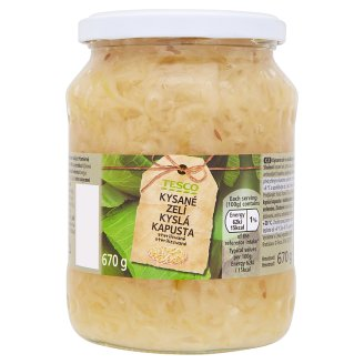 Tesco Canned Sauerkraut 670g