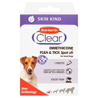Bob Martin Clear Dimethicone Spot On pro malé psy a štěňata o hmotnosti do 15 kg
