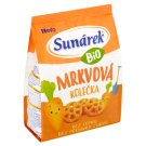 Sunárek Organic Carrot Wheels 50g