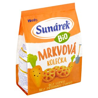 Sunárek Bio mrkvová kolečka 50g