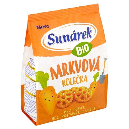 Sunárek Organic Carrot Wheels 50g