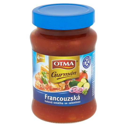Otma Gurmán French Ready-Made Sauce with Vegetables 350g