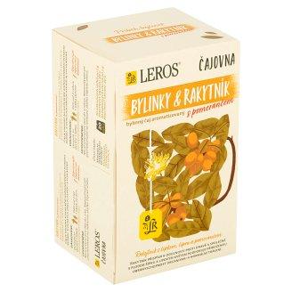 Leros Vital Rakytník a pomeranč bylinný čaj 20 sáčků po 2g
