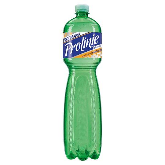 Poděbradka ProLinie Jemně perlivá mandarinka 1,5l