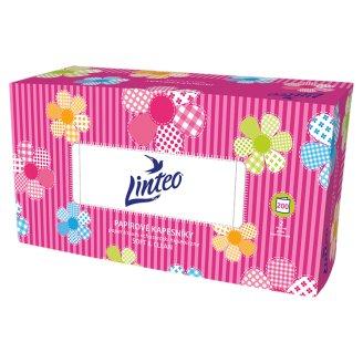 Linteo Satin Papírové kapesníčky 200 ks