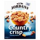 Jordans Country Crisp celozrnné obilné lupínky s ořechy 400g