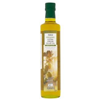 Tesco Organic Extra panenský olivový olej 500ml