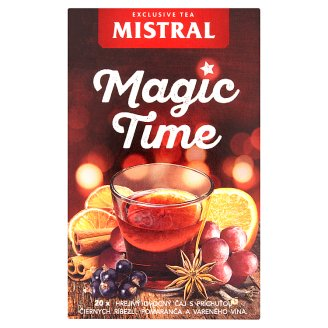 Mistral Magic Time aromatizovaný ovocný čaj 20 x 2,5g