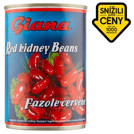 Giana Fazole červené ve sladkoslaném nálevu 400g