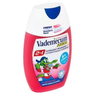 Vademecum Junior zubní pasta 2in1 Strawberry 75ml