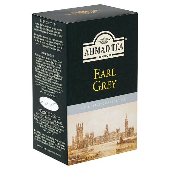 Ahmad Tea Earl Gray Black Tea with Bergamot Flavored 100g