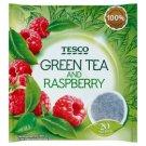 Tesco Green Tea and Raspberry 20 x 2g