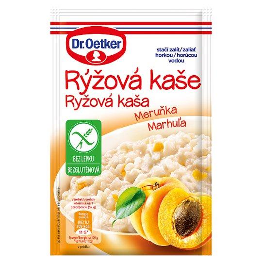 Dr. Oetker Apricot Rice Porridge 52g